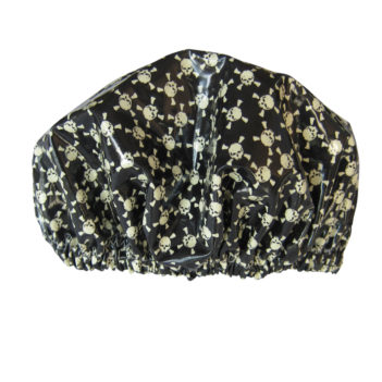 skull shower cap