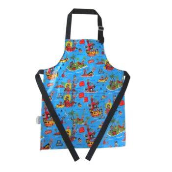 kids apron waterproof pirates